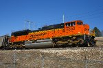Northbound BNSF Empty Coal Train DPU Locomotive