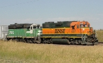 BNSF 2267 and 2892