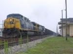WB coal passes the C&O Depot