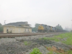 CSX 733 and another SD70MAC