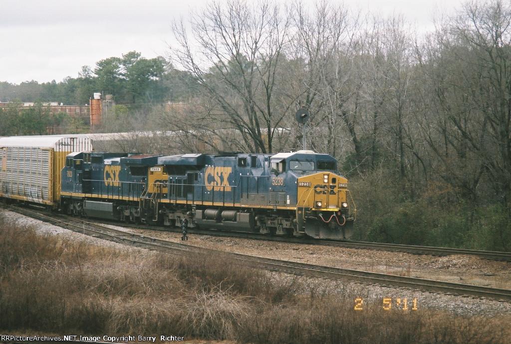 CSX ES40DC 5238