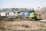 CSX C40-8W 9000
