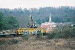 Spreading Railroad Ties