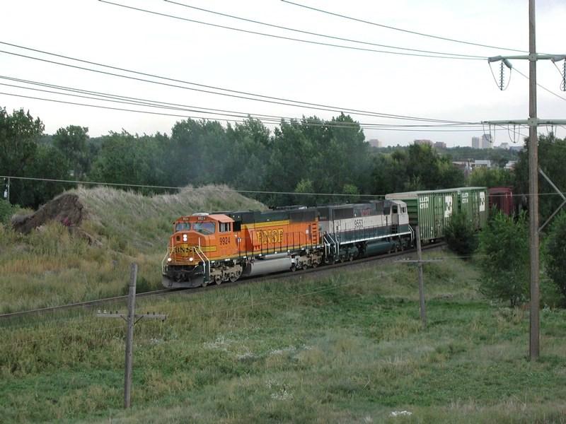 BNSF 9924