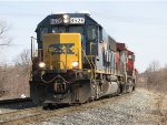 Q335-18 pulls down for headroom before shoving back into Waverly Yard