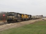 GDLK700 backs its power into the yard
