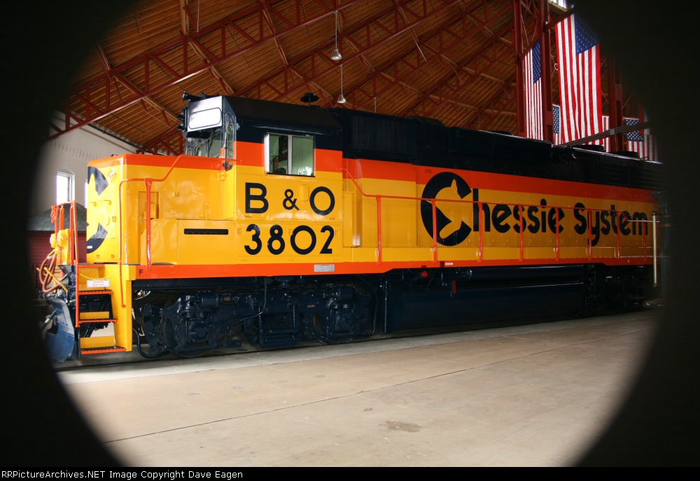 Chessie System (B&O) GP38#3802 Trains Magazine All- American Diesel 1982