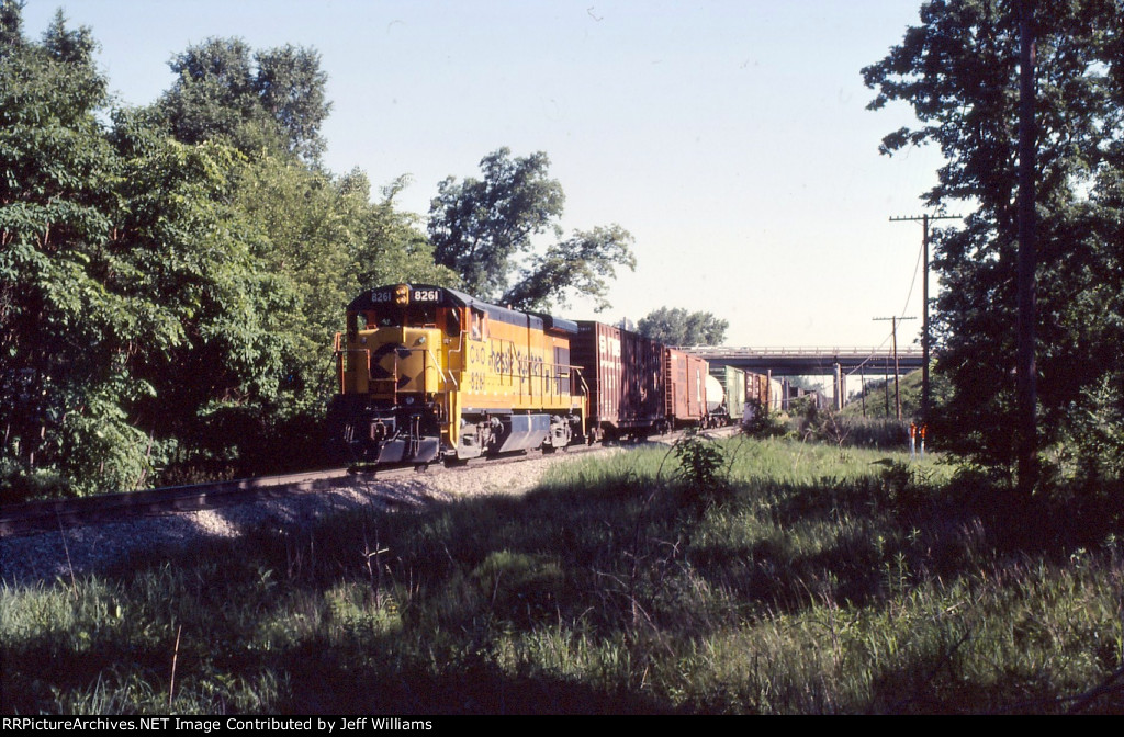 Another Chessie Train at Romulus