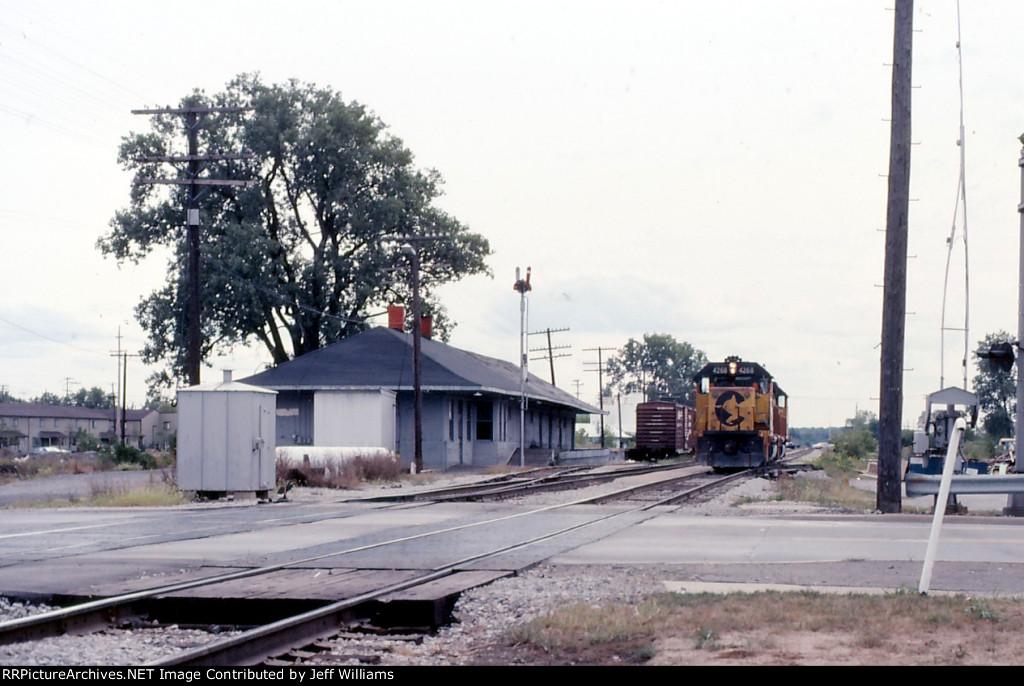 Engines at Depot