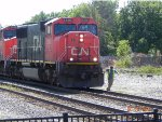 CN L502 Slows to let the condutor off