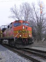 BNSF 5490 Leads CN A451-13