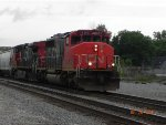 CN 5362 Leads the M394-11 thru Durand.