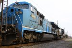 Ex-LMS/NS C40-8W #8461 trailer as NS M2G train