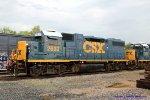 CSX GP38-2 2632 is former L&N 4025