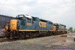 GP 38-2's for power for J765/J768 Louisville-BG-Louisville local await their northbound departure