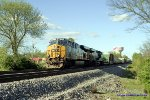 CSX Q275 takes the siding at Morgantown