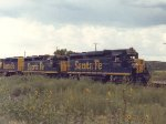 ATSF 3280 at Ash Fork, AZ