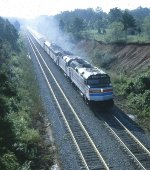 Amtrak 19 near Seneca, SC