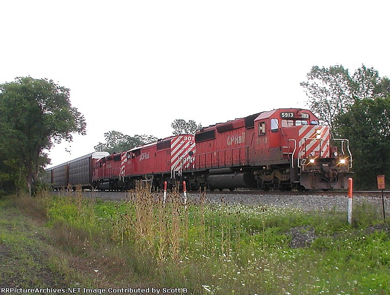 CP 5913 Entering the Chicago Line 29T