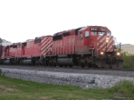 CP 5913 Enterting the Transfer track Off The Wabaash Line