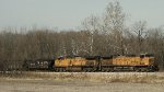 UP 6577 eastbound UP loaded coal train