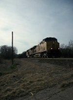 UP 7188 eastbound UP loaded coal train