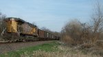 UP 5826 DPU on eastbound UP loaded coal train