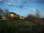UP 6277 DPU on eastbound UP loaded coal train