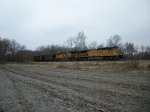 UP 6945 eastbound UP loaded coal train