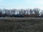 UP 7026 westbound UP special nuclear waste train