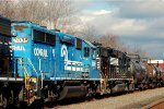 NS GP40-2 3038 in Conrail Paint on 14G