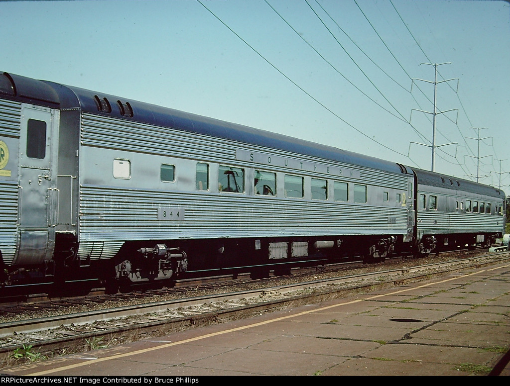 Southern Coach #844 on Piedmont - 1976
