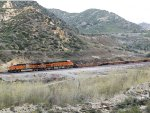 BNSF Baretable Through Cajon Pass