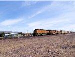"BNSF 5241 at the ""Desert Market"""