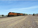 BNSF Manifest with NS Power