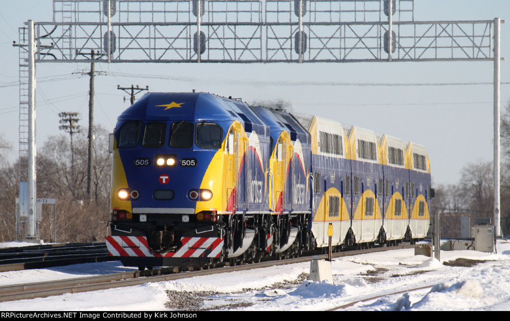 The Northstar Commuter Train