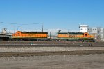 BNSF 1892 & 1812 Working The Denver Yard