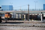 BNSF 5951 Point On An Arriving Container Train To Denver's BNSF Yard