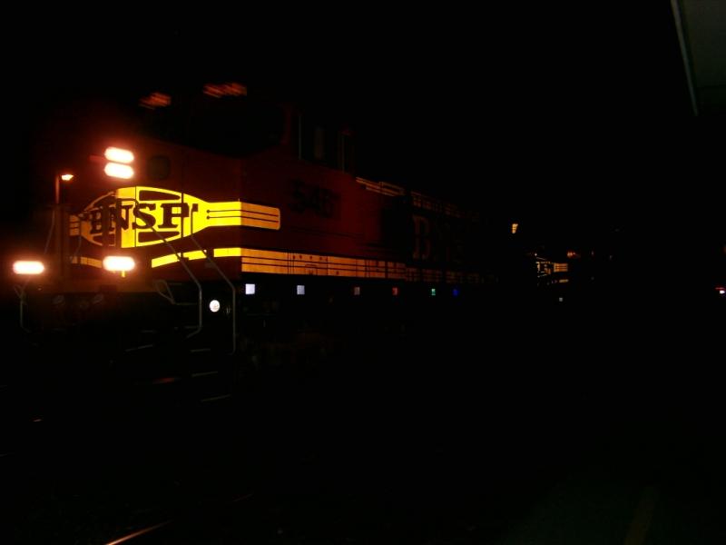 BNSF grain move