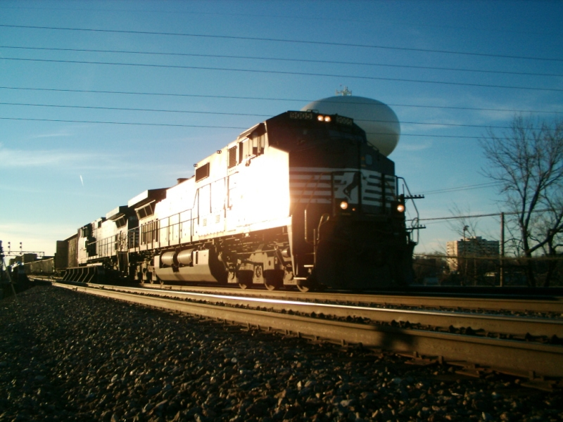 NS in the early evening
