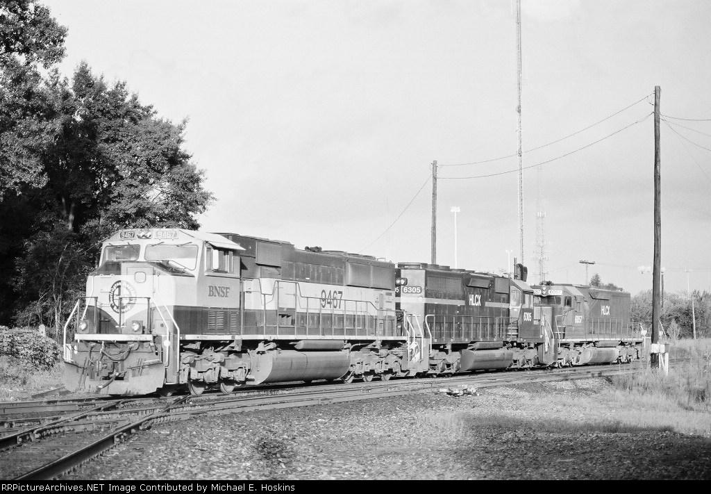 BNSF 9467