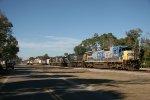 Southbound CSX freight.