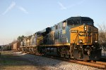 CSX empty coal train