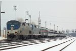 AMTK P42 79 with the Lakeshore Limited