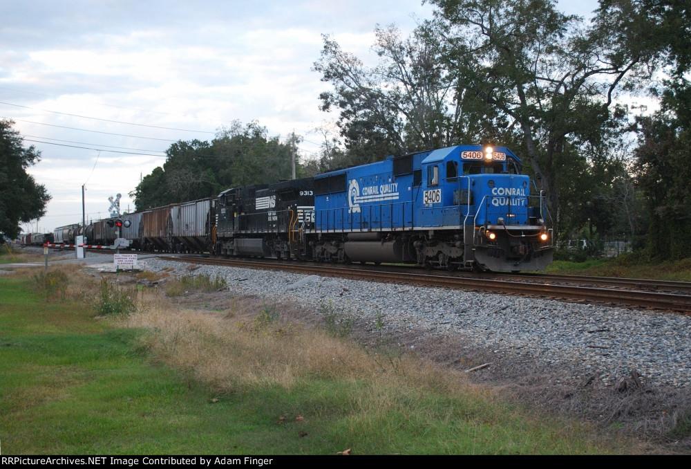 NS 5406 on NS 321