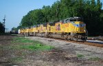 UP 8620 leads four more EMDs including three SD9043MACs on CSX K836