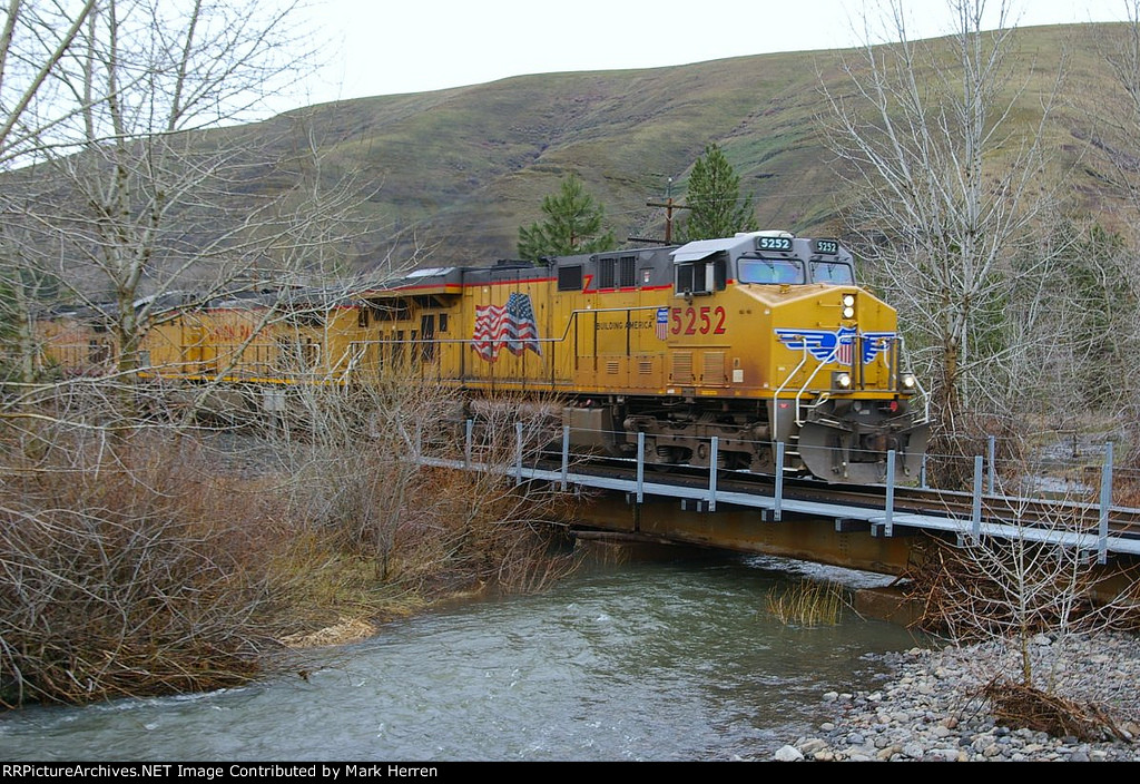 Crossing Squaw Creek