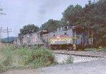 Clinchfield RR caboose 1076