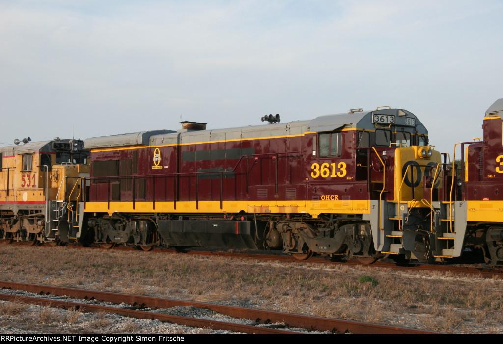 Stored OHCR locomotives