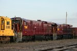 Stored OHCR locomotives